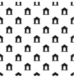 toy house pattern vector image vector image