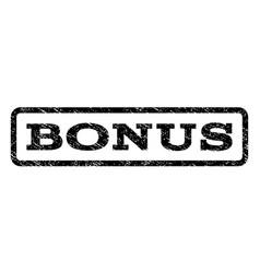 Bonus watermark stamp vector
