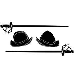spanish helmets vector image vector image
