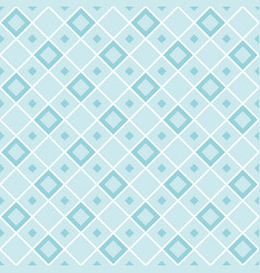 abstract geometric seamless patterns of rhombuses vector image