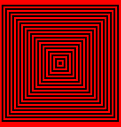 Black red square vector