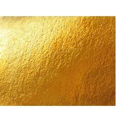 golden foil background vector image