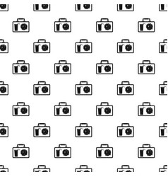 Lunch bag pattern seamless vector