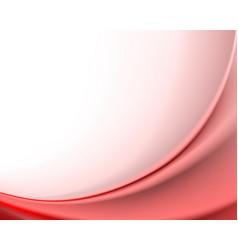 Red gentle background vector
