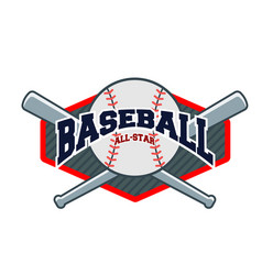 sport baseball background image vector image
