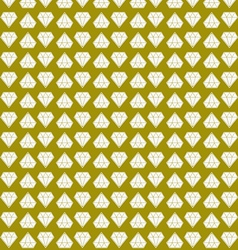 yellow diamond background vector image