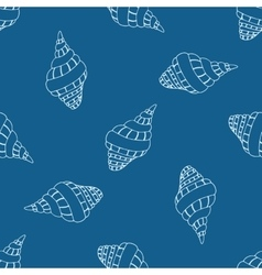 Abstract seamless pattern with hand drawn vector image vector image