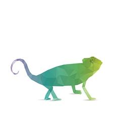Abstract iguana vector
