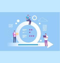 agile concept agile metodoligy vector image