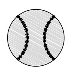 Baseball bat design vector
