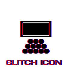 cinema icon flat vector image