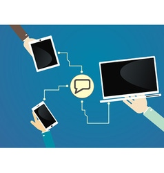 Devices communication vector
