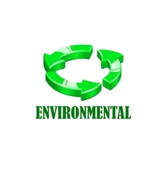 Environmentsl company logo vector