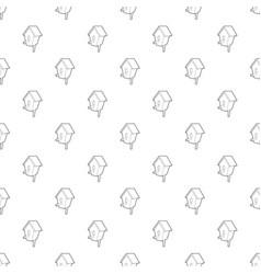 nesting box pattern seamless vector image
