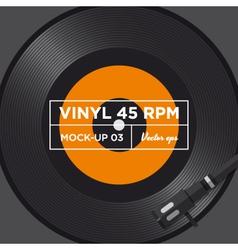 Vinyl 45 rpm mockup 03 vector