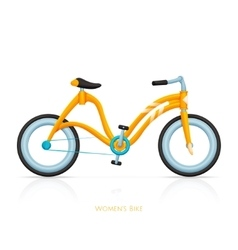 Womens Bike Two vector