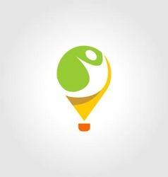 People logo icon vector image