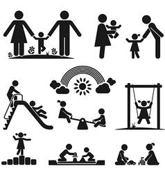 CHILDHOOD vector image