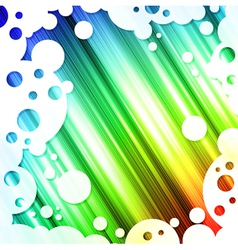 rainbow multicolored bright background vector image vector image