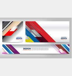 banner advertising design vector image