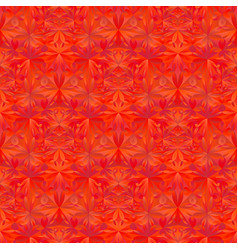 Geometrical abstract seamless floral triangle vector