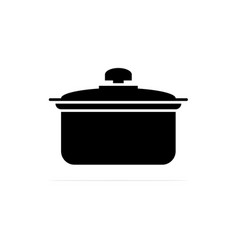 pot icon concept for design vector image