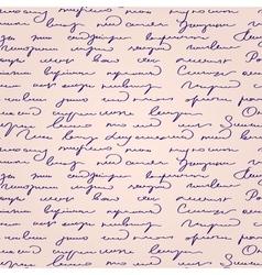 Seamless abstract handwritten text pattern vector