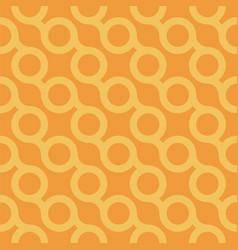 seamless stylish pattern - orange vector image