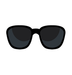Sunglasses accesory isolated icon vector