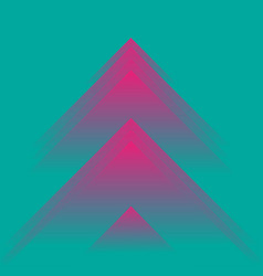 triangle geometric abstract vector image