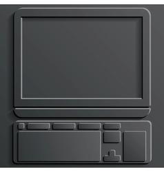 computer icon vector image