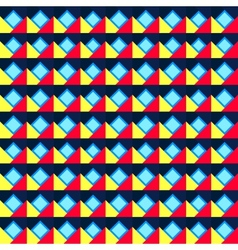 Seamless geometric color pattern vector image vector image