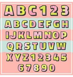abc pattern 2 tone vector image