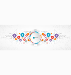 abstract background technology theme for your vector image