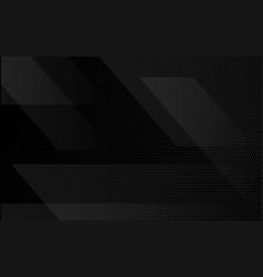 Black abstract tech geometric modern background vector