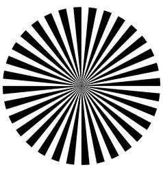 Expolding rays vector