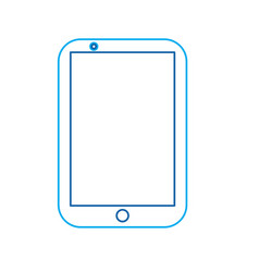 mobile phone smart device gadget technology vector image