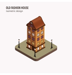 Old house vector