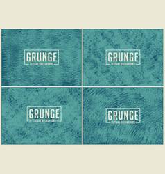 set grunge texture background vector image