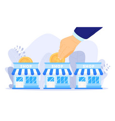 Small business support vector