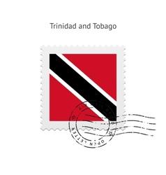 Trinidad and Tobago Flag Postage Stamp vector