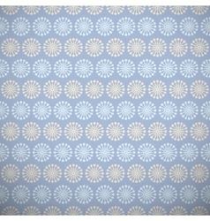 Yoga pattern tiling Light blue and beige colors vector