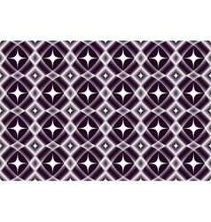 a pattern of diamonds vector image