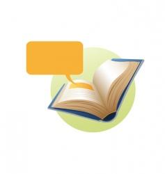 book vector image vector image