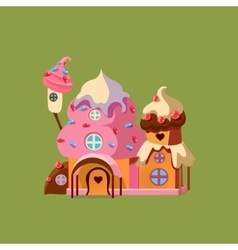 Fantasy Candy House vector image vector image