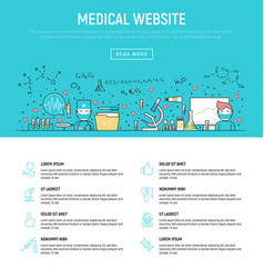 modern concept of medical vector image