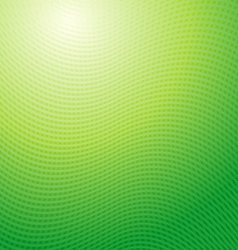 design pattern Green waves abstract light vector image vector image