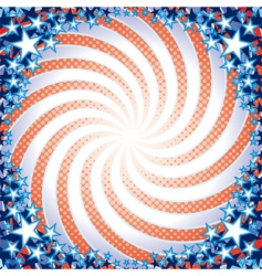 us theme vector image