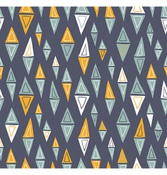tribal inspired seamless geometric pattern with vector image