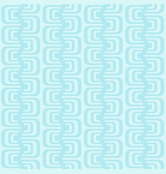 Abstract seamless pattern with geometric waves vector